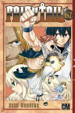 Fairy Tail T61, manga chez Pika de Mashima