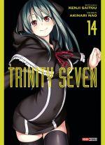 Trinity seven T14, manga chez Panini Comics de Nao, Saitô
