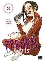 Freaky girls T3, manga chez Pika de Petos