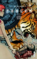 Fables T1, comics chez Urban Comics de Willingham, Talbot, Medina, Buckingham, Medley, Van Valkenburg, Leialoha, Vozzo, Jean