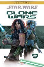 Star Wars - Clone Wars T9 : Le siège de Saleucami (0), comics chez Delcourt de Ostrander, Duursema, Anderson
