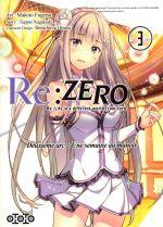 Re:Zero – 2e arc : une semaine au manoir, T3, manga chez Ototo de Nagatsuki, Matsuse