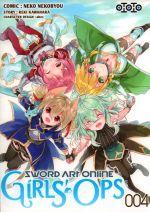 Sword art online - Girls' ops T4, manga chez Ototo de Kawahara, Abec, Nekobyou