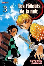 Les rôdeurs de la nuit  T3, manga chez Panini Comics de Gotouge