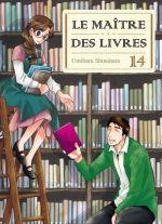 Le maître des livres T14, manga chez Komikku éditions de Shinohara