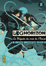 Log Horizon - La brigade du vent de l'ouest  T8, manga chez Kana de Tono