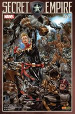 Secret Empire (revue) T2, comics chez Panini Comics de Landy, Barnes, Stohl, Spencer, Allor, Bandini, Frigeri, Sorrentino, Level, Cassara, Boyd, Rosenberg, Arciniega, Reis, Brooks