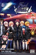 Food wars  T21, manga chez Delcourt Tonkam de Tsukuda, Saeki