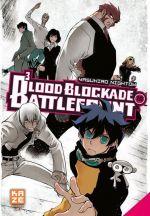 Blood blockade battlefront T10, manga chez Kazé manga de Nightow