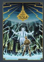 Les Trois fantômes de Tesla T2 : La conjuration des humains véritables (0), bd chez Le Lombard de Marazano, Bec