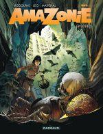 Amazonie T3, bd chez Dargaud de Rodolphe, Léo, Marchal, Bouët