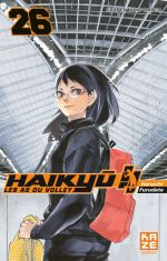 Haikyû, les as du volley T26, manga chez Kazé manga de Furudate