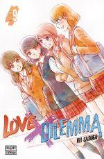 Love x dilemma T9, manga chez Delcourt Tonkam de Sasuga