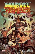 Marvel Zombies T4 : Halloween (0), comics chez Panini Comics de Van Lente, Marraffino, David, Blanco, Barrionuevo, Vitti, Pierfederici, Beaulieu, Henderson, Chuckry, Del Mundo
