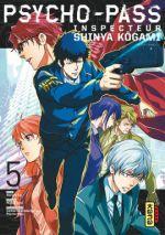 Psycho-pass Inspecteur Shinya Kôgami  T5, manga chez Kana de Gotô, Sai