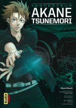 Psycho-pass Inspecteur Akane Tsunemori T3, manga chez Kana de Urobochi, Miyoshi