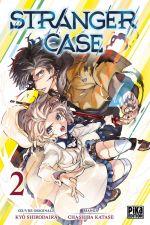 Stranger case T2, manga chez Pika de Katase, Shirodaira