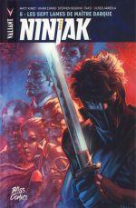 Ninjak T5 : Les sept lames de Maître Darque (0), comics chez Bliss Comics de Maurer, Kindt, Nguyen, Laming, Guinaldo, Evans, Cafu, Sotomayor, Arreola, Baron, Massafera