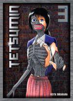 Tetsumin T3, manga chez Komikku éditions de Sugahara