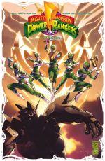 Power Rangers T3 : L'ère de Repulsa (0), comics chez Glénat de Higgins, Lam, Prasetya, Lafuente, Herms