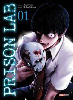Prison lab T1, manga chez Panini Comics de Kantetsu, Minase