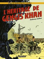 Les Archéologues de l'interdit T2 : L'héritage de Gengis Khan (0), bd chez Casterman de Auffret