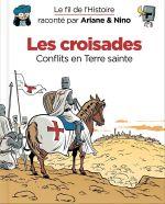Le Fil de l'Histoire T5 : Les croisades (0), bd chez Dupuis de Erre, Savoia