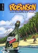 Robinson T2 : Une bouteille à l'amer (0), bd chez Petit à petit de Jak, Myriam