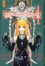 Death Note T4, manga chez Kana de Ohba, Obata