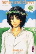 Honey and clover T3, manga chez Kana de Chica