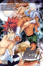 Food wars  T22, manga chez Delcourt Tonkam de Tsukuda, Saeki