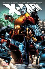 X-Men - Les extrémistes : Les extrémistes (0), comics chez Panini Comics de Carey, Brubaker, Bachalo, Larroca, Ramos, Choi, Keith, Oback, Fabela, Delgado, Studio F