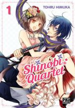 Shinobi quartet T1, manga chez Pika de Imuka