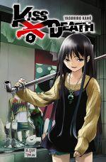 Kiss x death  T5, manga chez Delcourt Tonkam de Kano