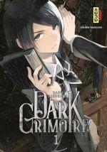 Dark grimoire T1, manga chez Kana de Haru