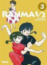 Ranma ½ T3, manga chez Glénat de Takahashi