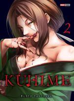 Kuhime T2, manga chez Panini Comics de Takenaka