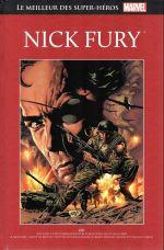 Marvel Comics : le meilleur des super-héros T21 : Nick Fury (0), comics chez Hachette de Hickman, Caselli, Bendis, Lee, Beatty, Kirby, Ayers, Rudino