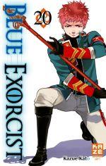 Blue exorcist T20, manga chez Kazé manga de Kato