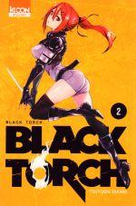 Black torch T2, manga chez Ki-oon de Takaki