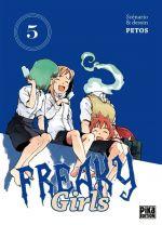 Freaky girls T5, manga chez Pika de Petos