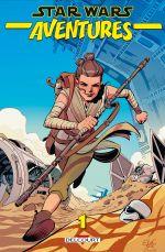 Star Wars Aventures T1 : Star Wars Aventures (0), comics chez Delcourt de Walker, Scott, Charretier, Colinet, Charm, Sommariva, Kirchoff, Stern, Bonvillain