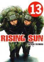 Rising sun T13, manga chez Komikku éditions de Fujiwara