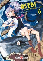 Asebi et les aventuriers du ciel  T6, manga chez Bamboo de Umeki