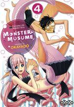 Monster musume T4, manga chez Ototo de Okayado