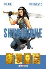 Skybourne T1, comics chez Delcourt de Cho, Menyz