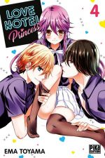 Love hotel princess T4, manga chez Pika de Toyama