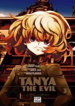 Tanya the evil T3, manga chez Delcourt Tonkam de Carlo, Tôjô