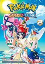 Pokémon Soleil et Lune T2, manga chez Kurokawa de Kusaka, Yamamoto