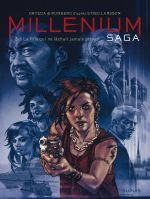 Millenium saga T3 : La fille qui ne lâchait jamais prise (0), bd chez Dupuis de Runberg, Ortega, Crespo